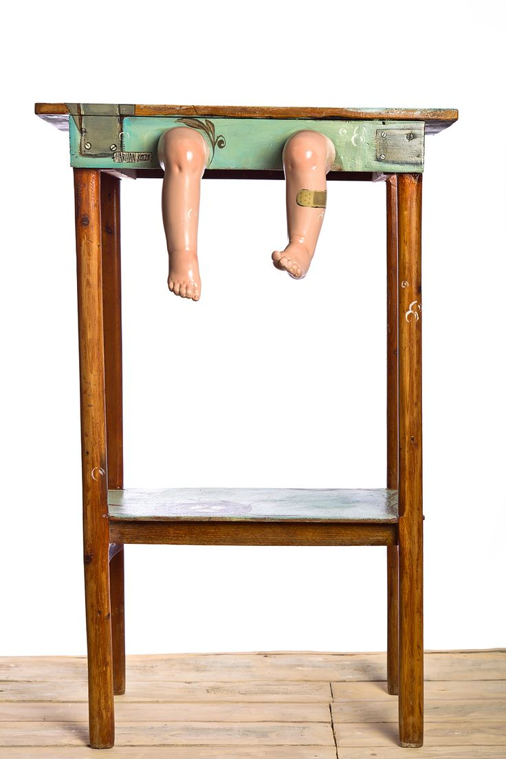 Whimsical Baby leg table