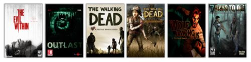 Win The Evil Within Outlast The Walking Dead The Walking... sweepstakes IFTTT reddit giveaways freebies contests