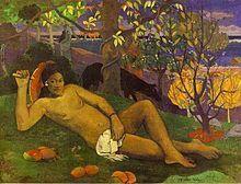 La donna dei manghi, olio su tela, 1896, Museo Puŝckin, Mosca