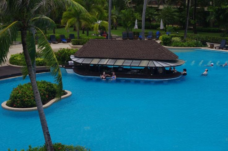 The pool at Merlin Beach Resort, Phuket.  Best resort in the world!
