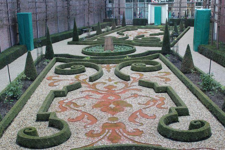 De tuin van museum Willet-Holthuysen.