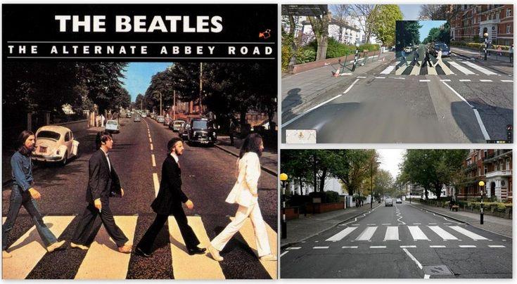 """Beatles –  """"Abbey Road"""" Albümü / KLASİKLEŞMİŞ 12 ALBÜM KAPAĞI NEREDE ÇEKİLDİ?"""