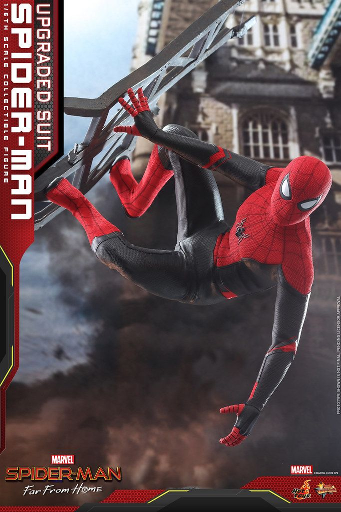 Hot Toys Mms542 蜘蛛人 離家日 蜘蛛人 升級版戰衣 Spider Man Upgraded Suit 1 6 比例人偶作品 Spiderman Spiderman Suits Spiderman Movie