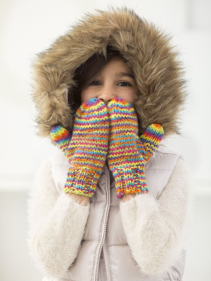 261 besten knit mittens (colorful) Bilder auf Pinterest ...