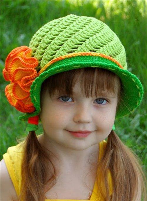 24 Best Crochet Hats Images On Pinterest Knit Crochet Knitwear