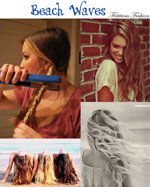 Beach waves: #Hairstyles