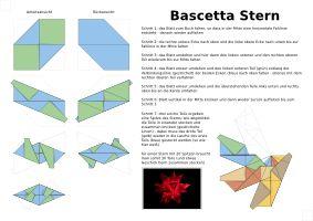 m s de 25 ideas incre bles sobre bascetta stern anleitung en pinterest bascetta stern papier. Black Bedroom Furniture Sets. Home Design Ideas