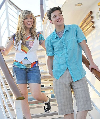 Jennette McCurdy & Nathan Kress. No, I do not ship them. It's like shipping Rose Tyler with Rory Williams, or Jackie with Jack Harkness. They are better friends that absolutely love to prank each other.