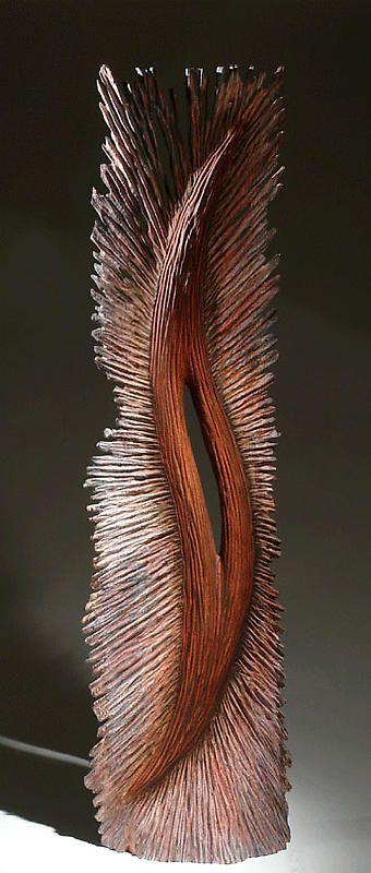 "Christophe Nancey ~ ""Fleur 1"" ~ Wood Sculpture ♥"