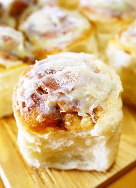 【菓子パン】シナモンロール☆ちぎりパン