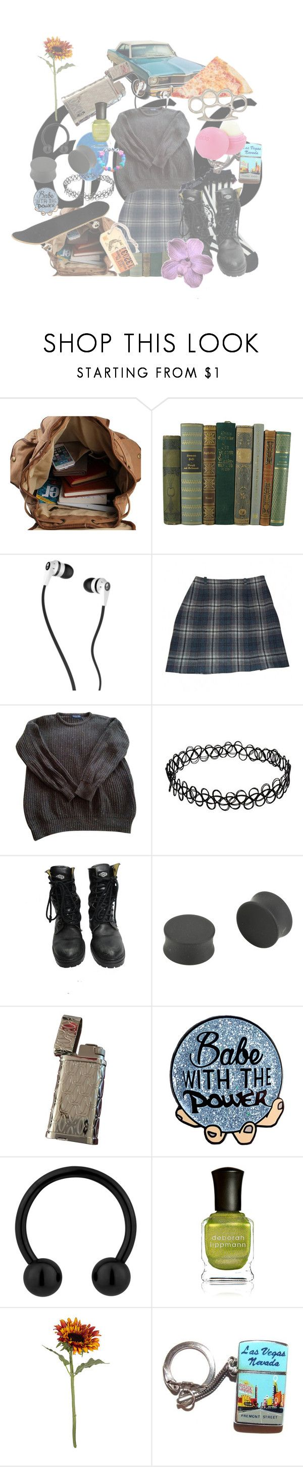 """""""Just found the band """"Creeper"""" and they're really good, you should go listen to them, they only have like one album out"""" by diana-littlefield ❤ liked on Polyvore featuring Skullcandy, Cacharel, American Apparel, CO, BOY London, Bronx, Billionaire Boys Club, Deborah Lippmann, Pavilion Broadway and Fremont"""