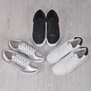 Хорошо Niubi товар кожаные белые туфли Корейский кружева круглые плоские туфли диких обувь удобные ботинки