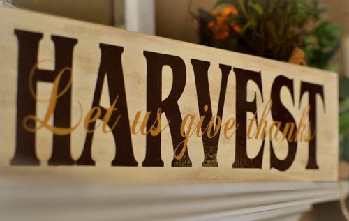 Harvest sign | fall | Pinterest