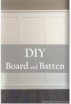 Board and batten for formal dining--use caulk and thin wood below existing chair rail