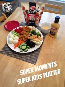 #ad Tyson Super Moments Super Kids Platter. See how your kids can pick their food then play with it! Need some simple and tasty #BigGame recipes?  Try my Super Moments Seven Layer Dip and Super Moments Super Kids Platter! They will be a hit and they will help you create your own Super Moments today! #SuperMoments #cbias #gamedayrecipes #49ers #seahawks #broncos #patriots#SuperMoments #ad #cbias