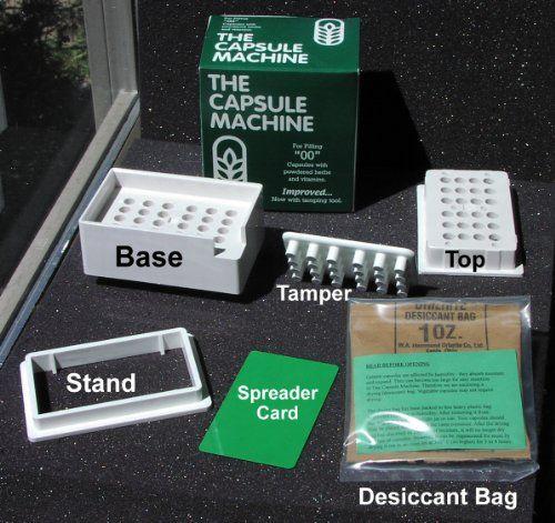 "The Capsule Machine ""00″ Capsule Machine 1 Kit | Multicityhealth.com List Price: $19.00 Discount: $3.31 Sale Price: $15.69"