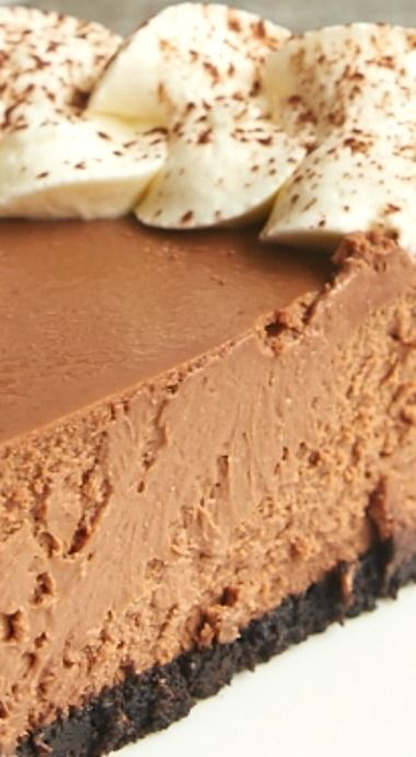 Kahlua cheesecake, Cheesecake and Chocolate on Pinterest