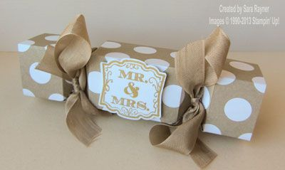 4 crackers from a 12x12 piece of paper... thanks Sara!.... weddingcracker