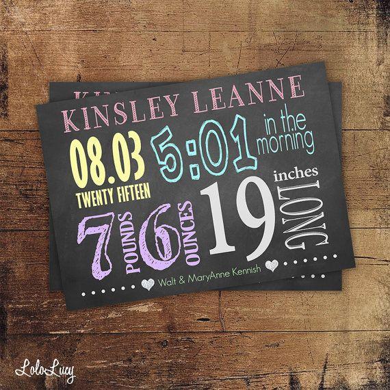 Best 25+ Chalkboard baby announcements ideas on Pinterest ...
