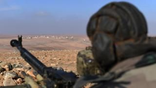 Syria conflict: Russians killed in US air strikes