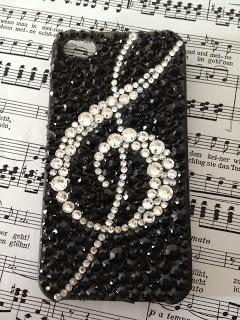 Carcasa MUSIC Cristal Swarovski  martinsdesigns.bcn@gmail.com