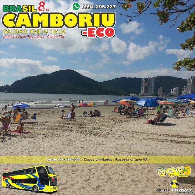 CAMBORIU ECONOMICO Enero / VERANO 2016 / PROMO 8 Días
