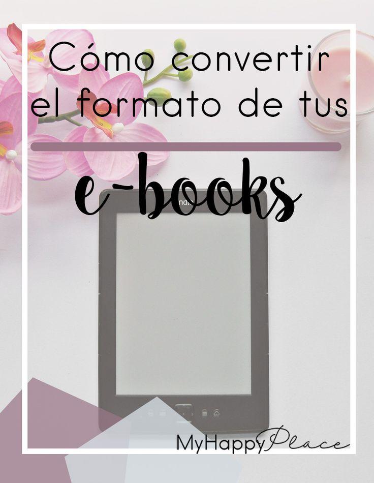 Convierte el formato de tus e-books de forma muy sencilla