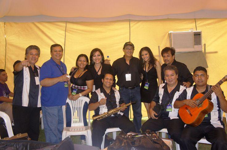 Los Romanceros, Los Hnos Mera, Anita Bolivar