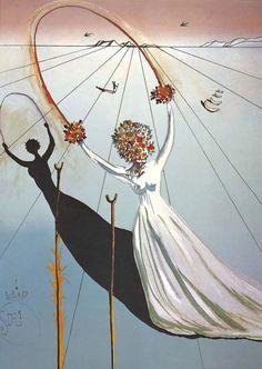 Salvador Dali - Alice in Wonderland series