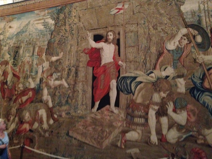 A Tapestry Of The Resurrection In The Vatican Museum 6 7
