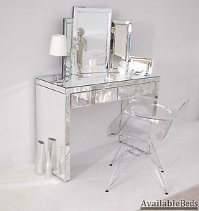 clear makeup vanity table. Mirrored furniture console dressing table transparent eames style chairs Best 25  Minimalist stools ideas on Pinterest