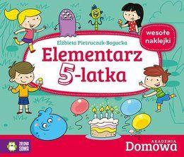 Elementarz 5-latka. Domowa akademia-Pietruczuk-Bogucka Elżbieta