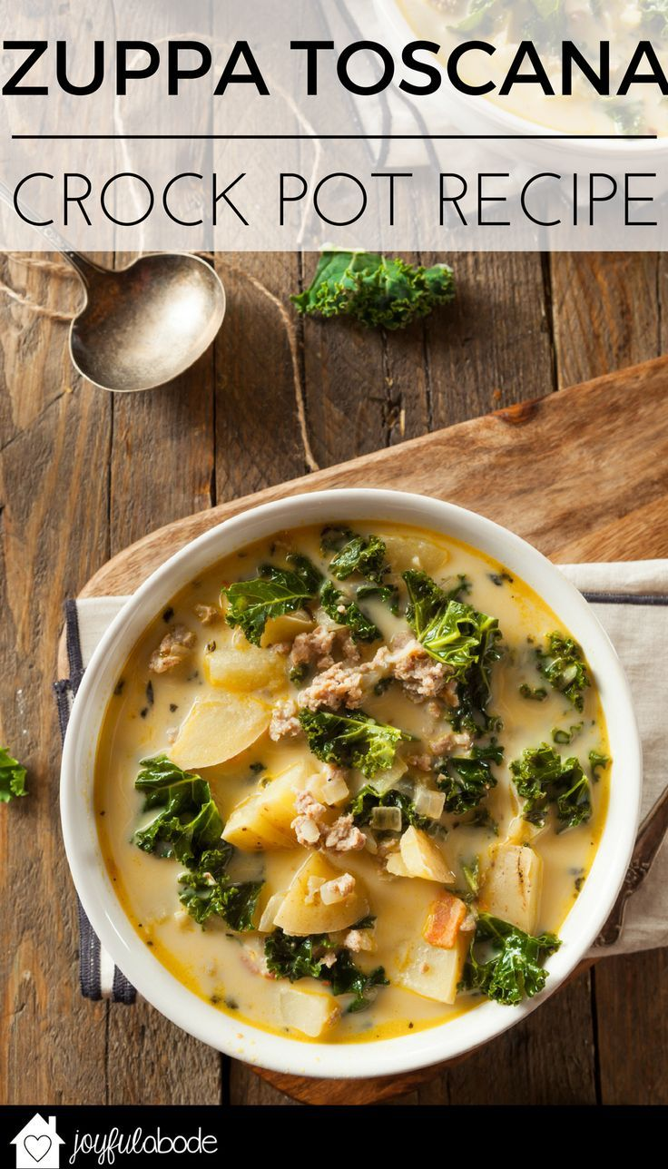 1000 ideas about hot weather meals on pinterest hot - Olive garden zuppa toscana crock pot ...