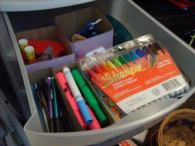 the red kitchen: 5 Minute Drawer Organizers