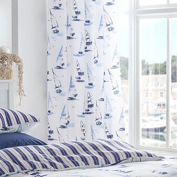 Nautical Curtains.
