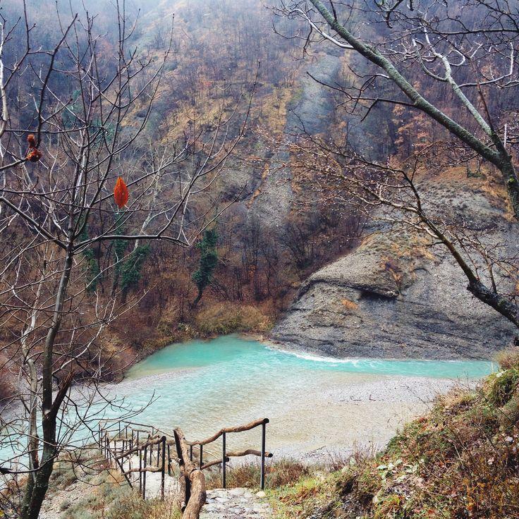 Borbera river in #liguria