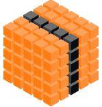 Big Cube Orange