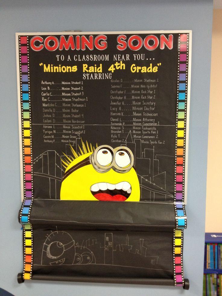 Minion Classroom Decoration Ideas ~ Best poster board ideas on pinterest tri fold