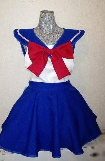 Sailor Moon Serena Apron Delantal Inspirado En Sailor Moon - $ 200.00 en MercadoLibre