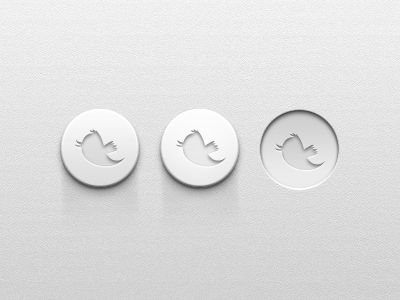 super #simple , #clean & #minimal #button #UI design