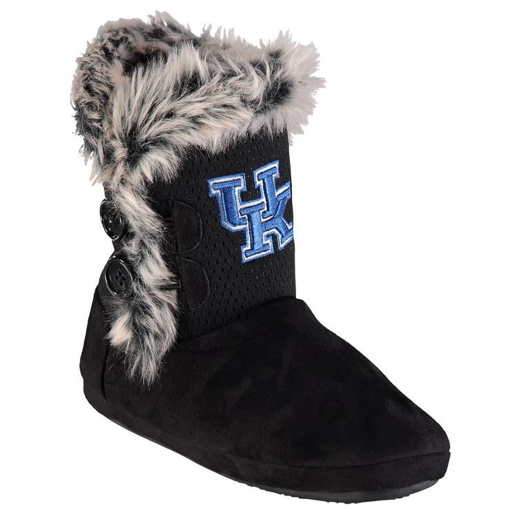 Women's Kentucky Wildcats Fur Top Boots