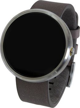 Motorola Moto 360 scocca chiara/cinturino in pelle grigio Orologio iOS: confronta i prezzi e compara le offerte su idealo.it