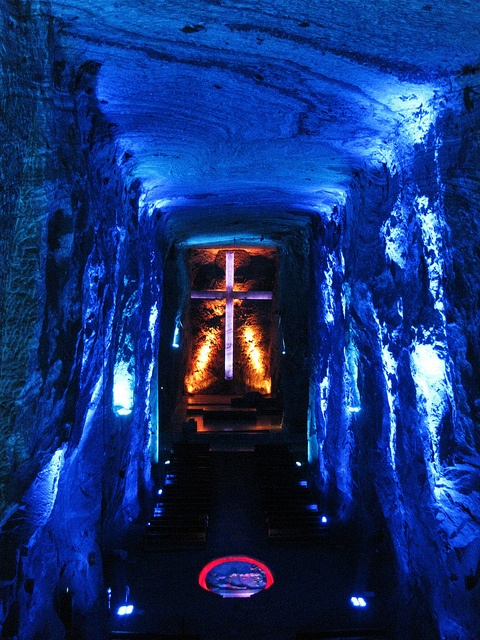 Salt cathedral, Zipaquira, Colombia
