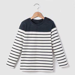 Long-Sleeved Breton T-Shirt, 3-12 Years R essentiel - Boys Clothing