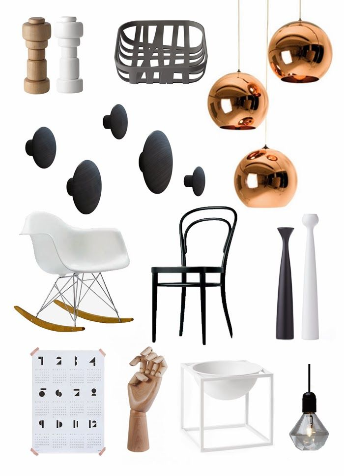 Via Feel Inspired Blog | Eames | HAY | By Lassen | Muuto | Thonet