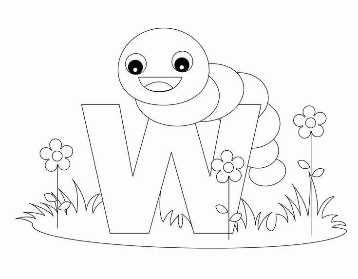 printable alphabet coloring pages | viati coloring in 2020