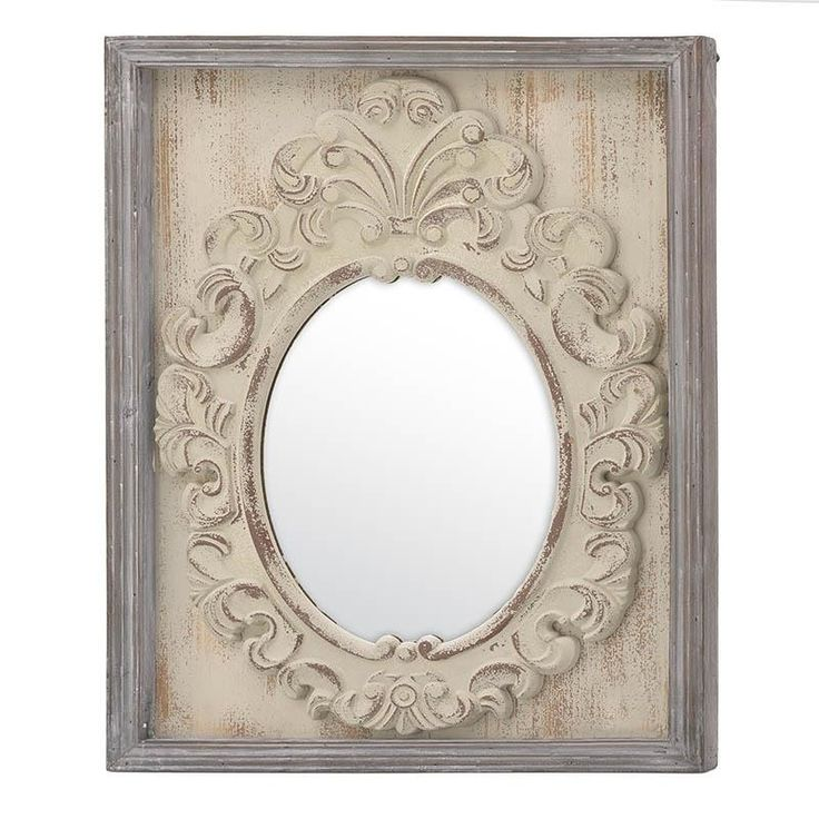 Wall Mirror - Wooden - Polyester - MIRRORS
