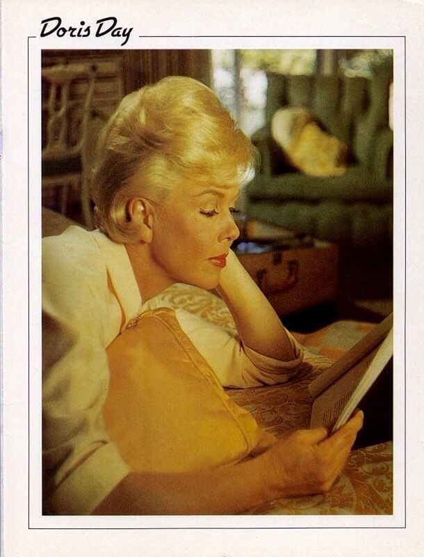 Doris Day, Learning her lines!....