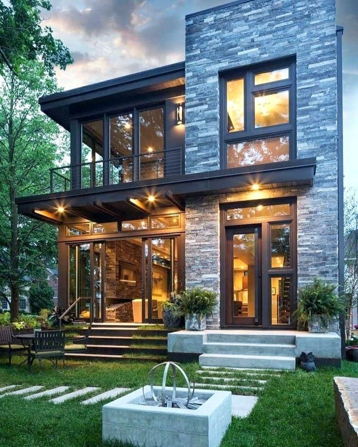 Inspirational House Design Ideas New Homes Beautiful Modern Houses Ideas Best About Home Desi In 2020 Small House Exteriors Flat Roof House Designs House Exterior