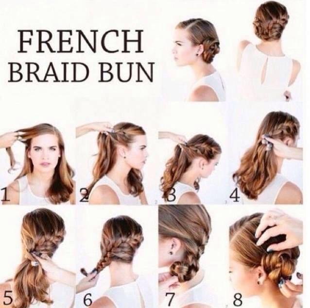 Best 25 french braid buns ideas on pinterest french plait best 25 french braid buns ideas on pinterest french plait hairstyles how to braid hair and dutch braid into bun ccuart Images